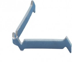 Support inox 3 pointes L 25 mm - 1200°C
