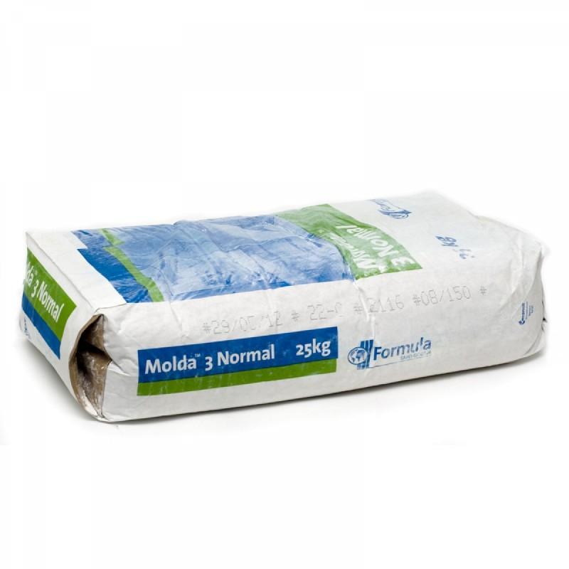 Molda 3 (plâtre à modeler extra fin) Sac de 25 kg