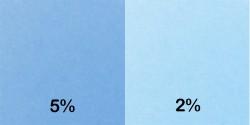 Colorant bleu clair