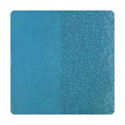 R03 - Bleu turquoise craquelé