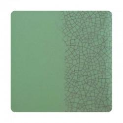 Vert clair craquelé