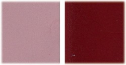 Colorant rouge bordeaux