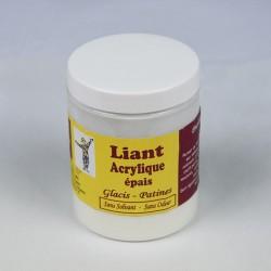 Liant acrylique incolore -...