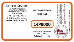 Colorant rouge