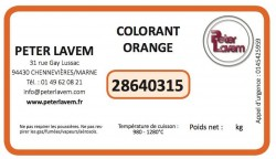 Colorant orange