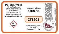 Colorant brun or