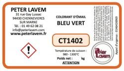 CT1402 - Colorant bleu vert