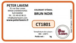 Colorant brun noir