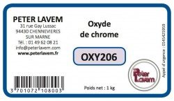 OXY206 - Oxyde de chrome
