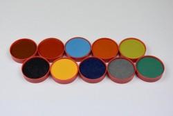 Palette oxyde rouge n°1