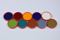 Palette oxyde rouge n°2