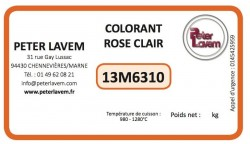 Colorant rose clair