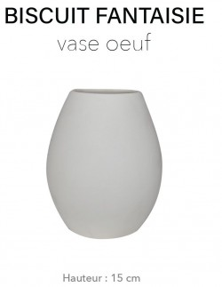 Biscuit Fantaisie - Vase...