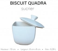 Biscuit Quadra - Sucrier...