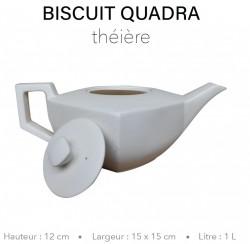 Biscuit Quadra - Théière 1...