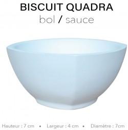 Biscuit Quadra - Bol sauce...