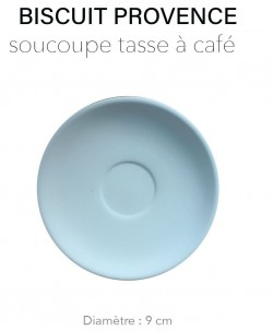 Biscuit Provence - Soucoupe...