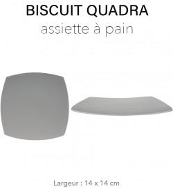 Biscuit Quadra - Assiette à...