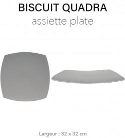 Biscuit Quadra - Plat carré...