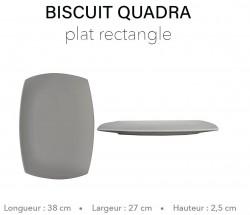 Biscuit Quadra - Plat...