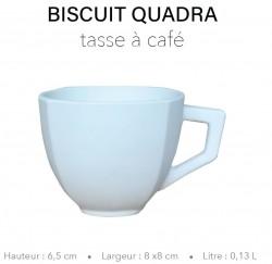 Biscuit Quadra - Tasse à...